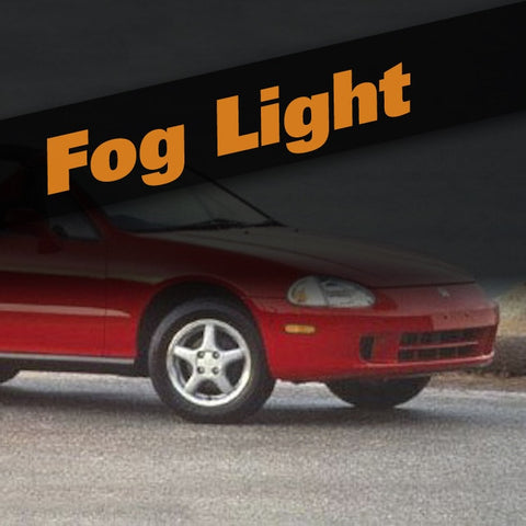 Honda Del Sol HID Xenon Fog Light Kit