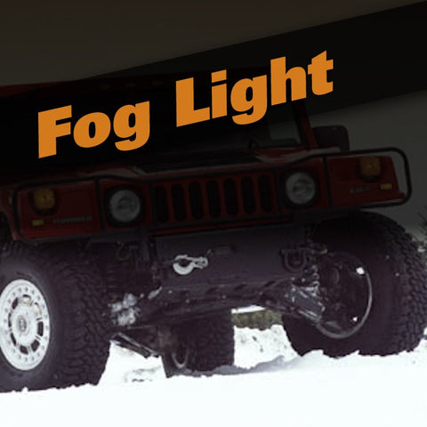 Hummer H1 HID Xenon Fog Light Kit