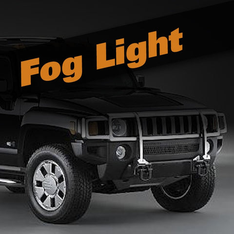 Hummer H3 HID Xenon Fog Light Kit