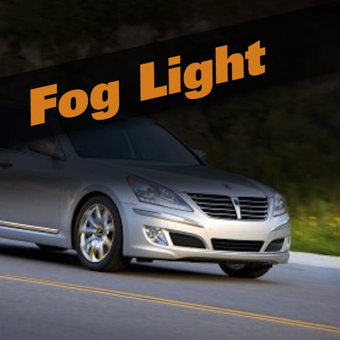 Hyundai Equus HID Xenon Fog Light Kit