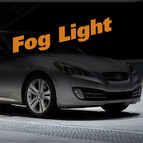 Hyundai Genesis HID Xenon Fog Light Kit
