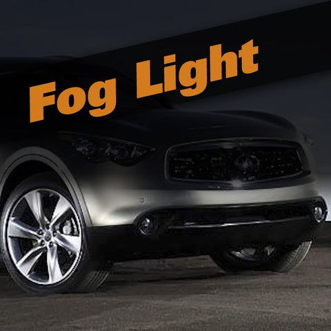 Infiniti FX HID Xenon Fog Light Kit