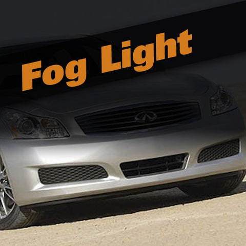Infiniti G25 HID Xenon Fog Light Kit