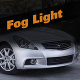 Infiniti G37 HID Xenon Fog Light Kit
