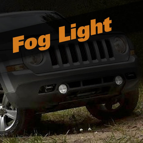 Jeep Patriot HID Xenon Fog Light Kit