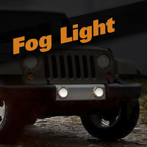 Jeep Wrangler HID Xenon Fog Light Kit
