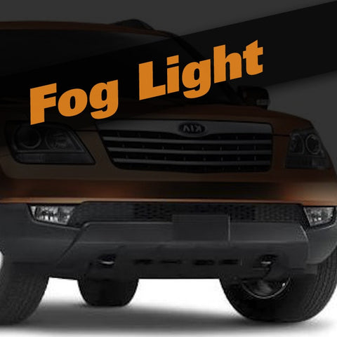 Kia Borrego HID Xenon Fog Light Kit