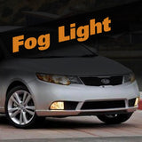 Kia Forte HID Xenon Fog Light Kit