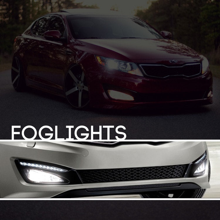 kia optima hid xenon fog light kit xenonsupply xs. Black Bedroom Furniture Sets. Home Design Ideas