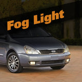 Kia Sedona HID Xenon Fog Light Kit