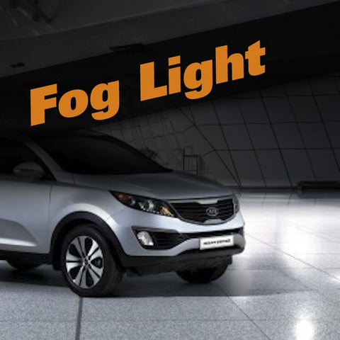 Kia Sportage HID Xenon Fog Light Kit