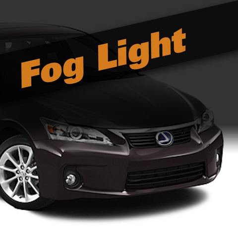 Lexus CT HID Xenon Fog Light Kit