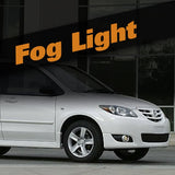Mazda MPV HID Xenon Fog Light Kit