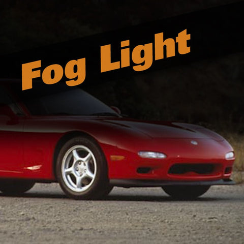 Mazda RX-7 HID Xenon Fog Light Kit