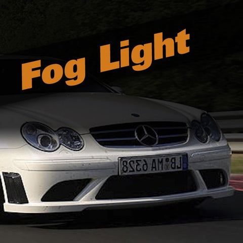 Mercedes CLK Coupe HID Xenon Fog Light Kit
