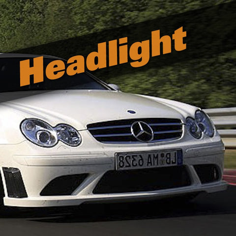 Mercedes CLK Coupe HID Kit (Headlight)