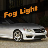 Mercedes CL HID Xenon Fog Light Kit