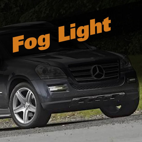 Mercedes GL HID Xenon Fog Light Kit