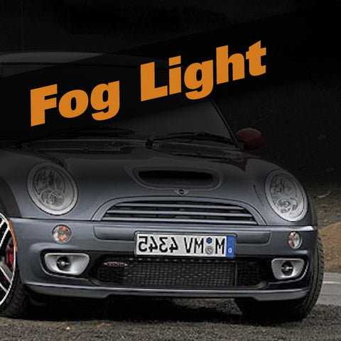Mini Cooper S HID Xenon Fog Light Kit