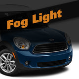 Mini Countryman HID Xenon Fog Light Kit