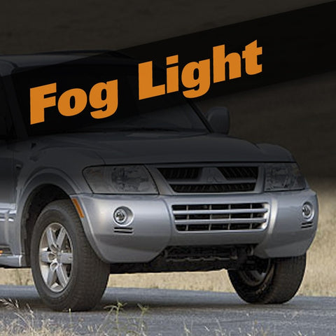 Mitsubishi Montero HID Xenon Fog Light Kit