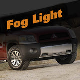 Mitsubishi Raider HID Xenon Fog Light Kit