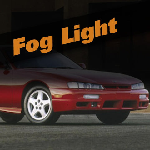 Nissan 240SX HID Xenon Fog Light Kit