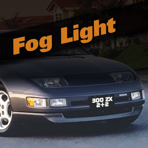 Nissan 300ZX HID Xenon Fog Light Kit