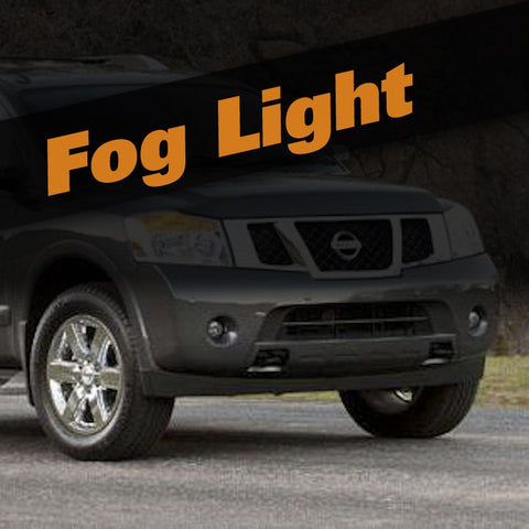 Nissan Armada HID Xenon Fog Light Kit