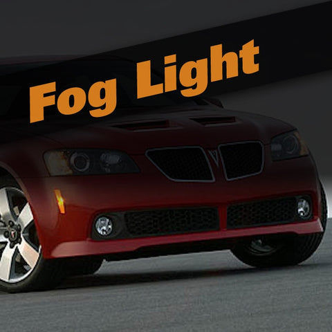 Pontiac G8 HID Xenon Fog Light Kit