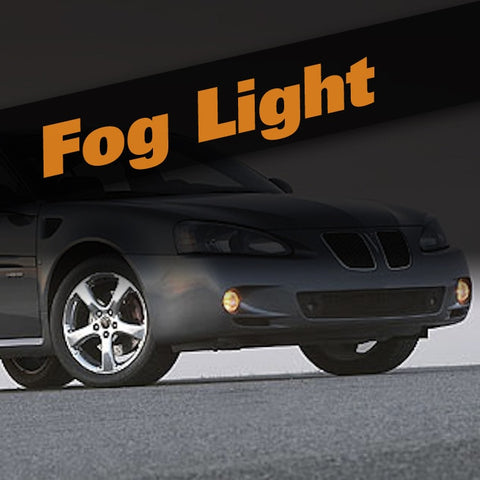 Pontiac Grand Prix HID Xenon Fog Light Kit