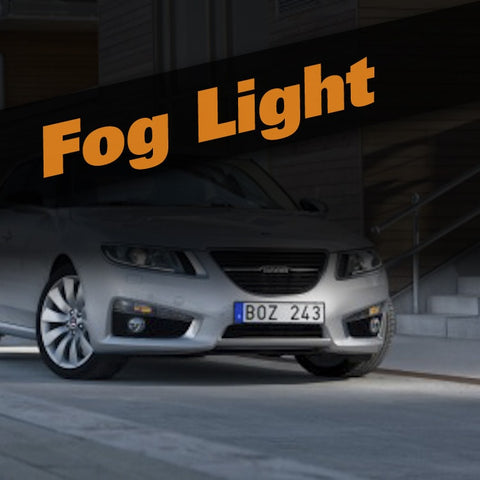 Saab 9-5 HID Xenon Fog Light Kit