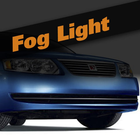 Saturn Ion HID Xenon Fog Light Kit