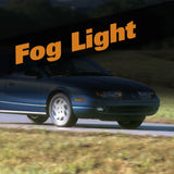 Saturn SL HID Xenon Fog Light Kit