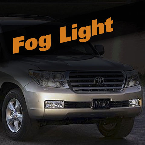 Toyota Land Cruiser HID Xenon Fog Light Kit