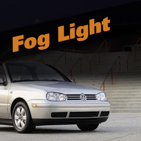 Volkswagen Cabrio HID Xenon Fog Light Kit