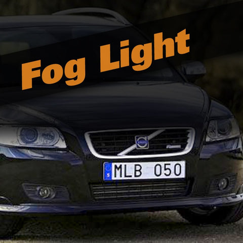 Volvo V50 HID Xenon Fog Light Kit
