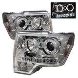 Ford F150 09-14 Projector Headlights - Halogen Model Only v4