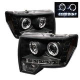 Ford F150 09-14 Projector Headlights - Halogen Model Only v3