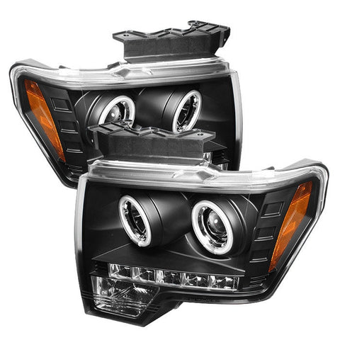 Ford F150 09-14 Projector Headlights - Halogen Model Only