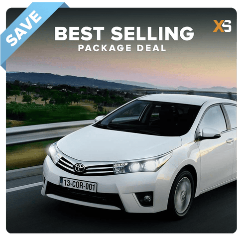Toyota Corolla HID Xenon Headlight Package Deal