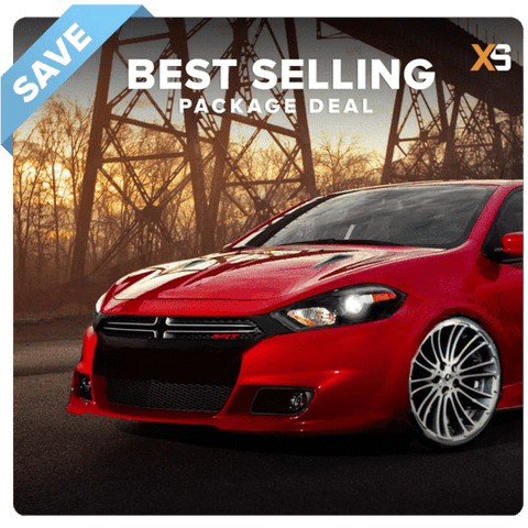 Dodge Dart HID Xenon Headlight Package Deal