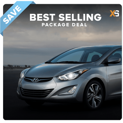 Hyundai Elantra HID Xenon Headlight Package Deal