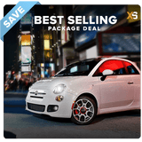 Fiat 500 HID Xenon Headlight Package Deal