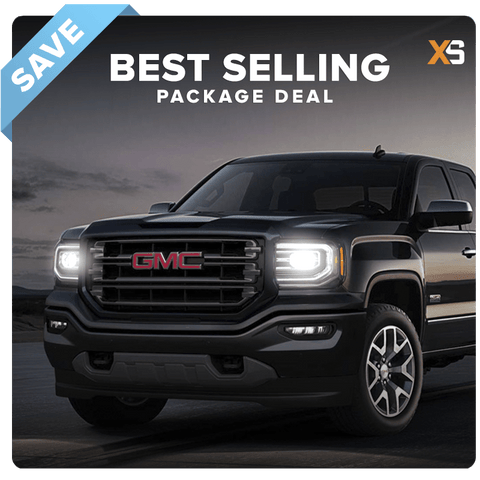 GMC Sierra HID Xenon Headlight Package Deal