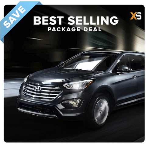 Hyundai Santa Fe HID Xenon Headlight Package Deal