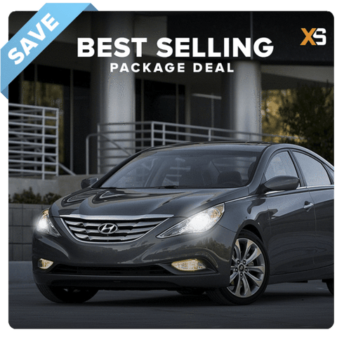 Hyundai Sonata HID Xenon Headlight Package Deal