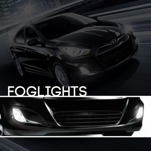 Hyundai Accent HID Xenon Fog Light Kit
