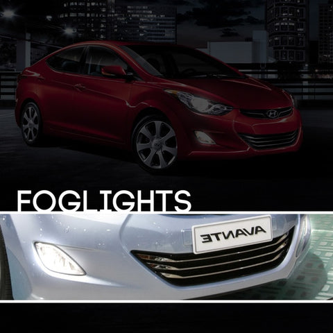 Hyundai Elantra HID Xenon Fog Light Kit