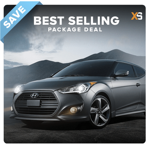 Hyundai Veloster HID Xenon Headlight Package Deal